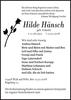Hilde Hänsch