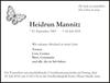Heidrun Mannitz