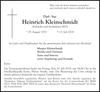 Heinrich Kleinschmidt