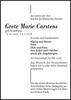 Grete Marie Carstens