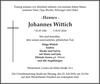 Johannes Wittich