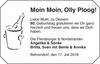 Moin Moin Olly Ploog