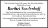 Barthel Vondenhoff