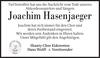 Joachim Hasenjaeger