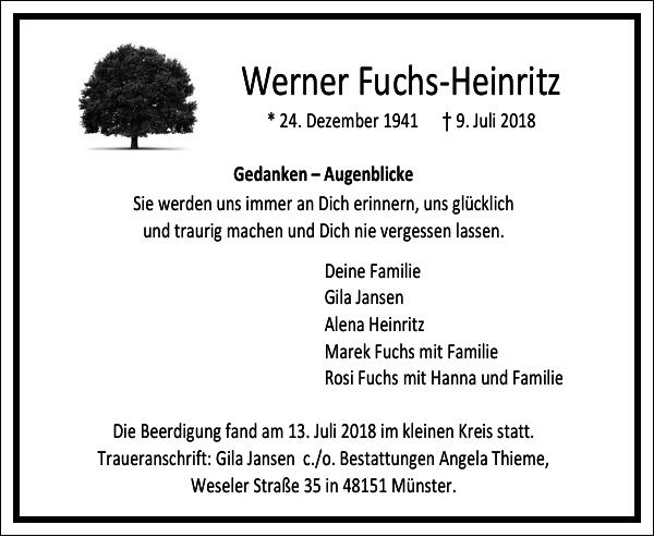 Werner Fuchs-Heinritz