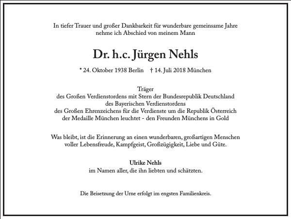 Dr. h. c. Jürgen Nehls
