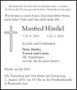 Manfred Hänßel