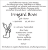 Irmgard Boos