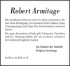 Robert Armitage