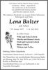 Lena Balzer