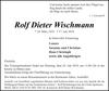 Rolf Dieter Wischmann