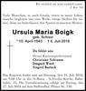 Ursula Maria Boigk