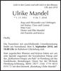 Ulrike Mandel