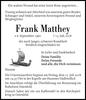 Frank Matthey