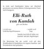 Elli-Ruth von Kamlah