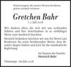 Gretchen Bahr