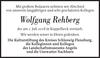 Wolfgang Rehberg