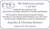 haben getraut Angelika Christian Kemmer