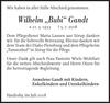 Wilhelm Bubi Gandt