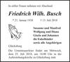 Friedrich Wilh. Busch