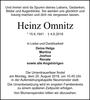 Heinz Omnitz
