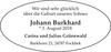 Johann Burkhard