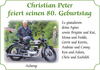Christian Peter feiert