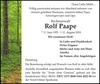 Rolf Paape