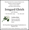 Irmgard Gleich