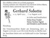 Gerhard Sobotta