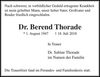 Dr. Berend Thorade
