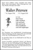 Walter Petersen
