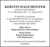 KERSTIN HAGEMEISTER