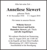 Anneliese Siewert