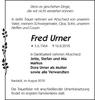 Fred Urner