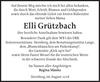 Elli Grützbach
