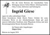 Ingrid Giese