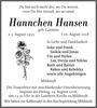 Hannchen Hansen