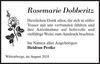 Rosemarie Dobberitz