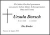 Ursula Dorsch