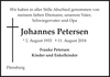 Johannes Petersen