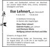 Ilse Lehnert