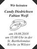Candy Diedrichsen Fabian Weiß