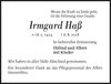 Irmgard Haß