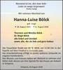 Hanna-Luise Bölck