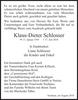 Klaus-Dieter Schlosser