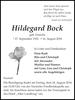 Hildegard Bock