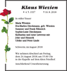 Klaus Wiezien