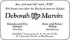 Deborah Marvin