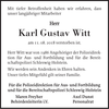 Karl Gustav Witt